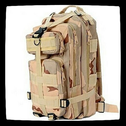 Backpack/ Daypack in Camo from www.lonesoldierclothing.co.za