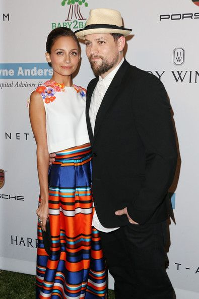 Nicole Richie & Husband Joel Madden at the Baby2Baby charity event.