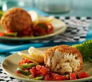 Bobby Chez (10) 4 oz. Famous Jumbo Lump Crab Cakes — QVC.com