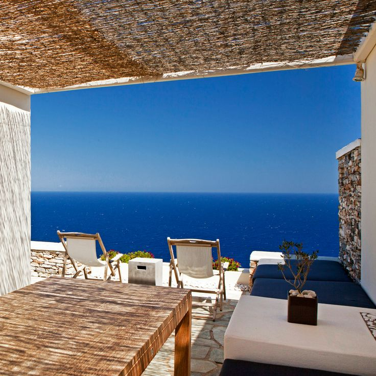 Views from Verina Astra Hotel #sifnos #luxuryhotel #relax