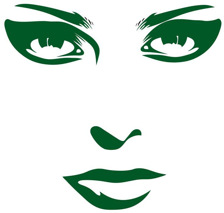 Silhouette Portrait de femme 56 decojcd@gmail.com