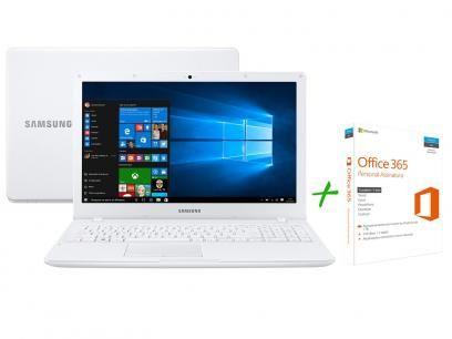 """Notebook Samsung Expert X24 Intel Core i5 6GB 1TB - LED 15,6"""" Full HD + Office 365 Personal com as melhores condições você encontra no Magazine Izackacessorios. Confira!"""