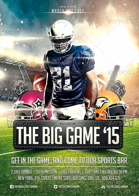 big game football flyer template     ffflyer com