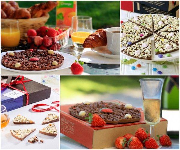Pizza au chocolat - The Gourmet chocolat pizza company