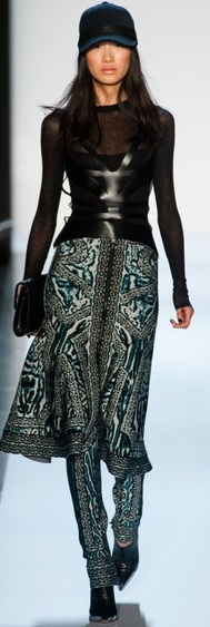 Herve Leger Milan Fashion Week Fall 2013