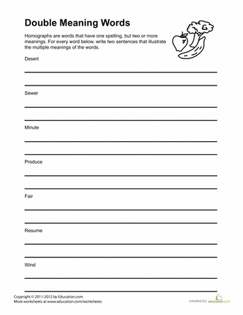 Printables Multiple Meaning Words Worksheets 3rd Grade 1000 images about teaching multiple meaning words on pinterest worksheets words