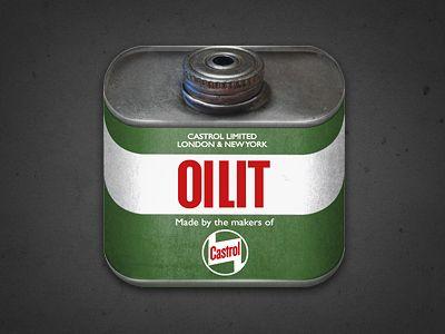 Castrol Oilit Icon