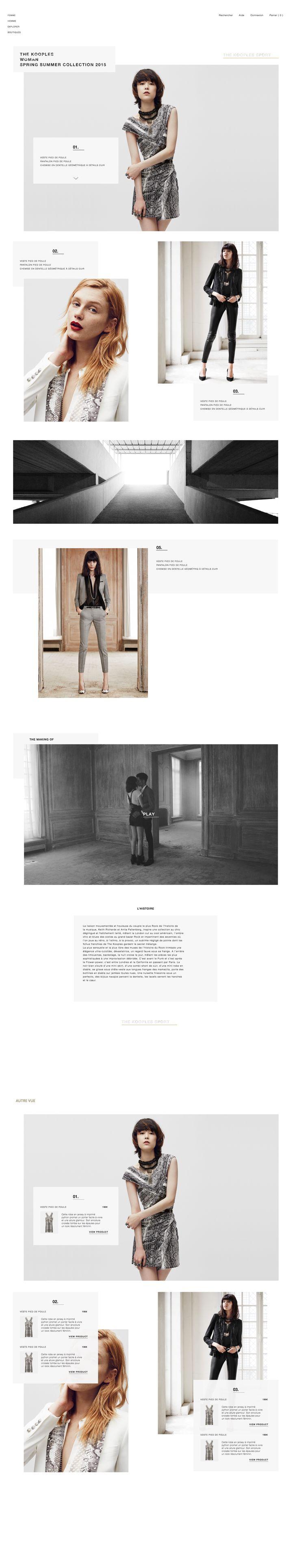 LOOKBOOK - The Kooples (Redesign) by Pierre Sudre