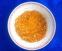 Polvere di arancia (grossier e sottile)