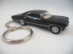 1967 Chevy Impala SS Black Sport Sedan Key Chain Supernatural Keychain | eBay
