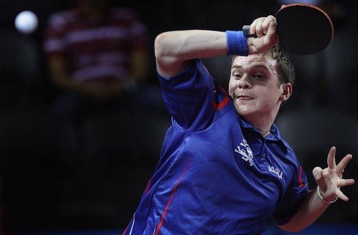 Paul Drinkhall. Table Tennis.