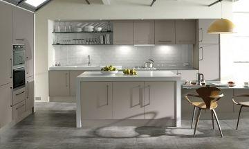 Zurfiz Ultramatt Metallic Cashmere - By BA Components, kitchen doors, interior design