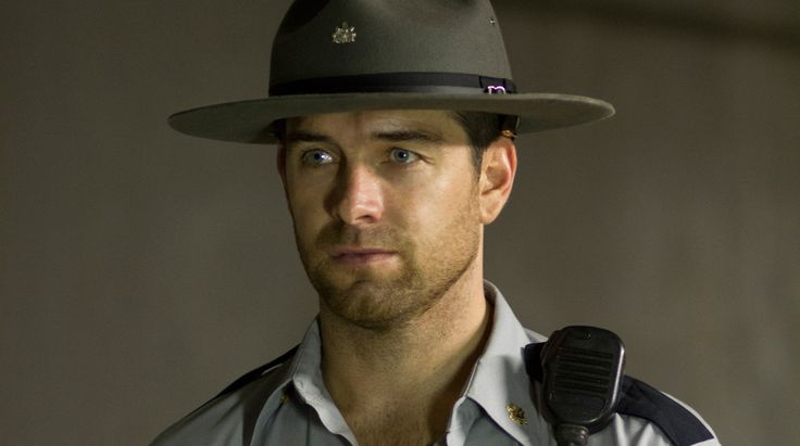 Antony Starr as Sheriff Lucas Hood in Banshee.