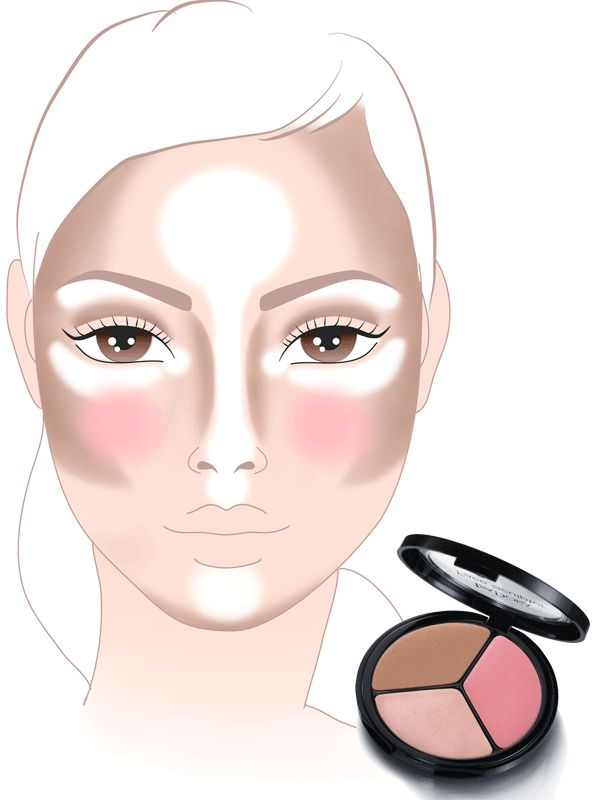 25 best ideas about make up faces on pinterest highlight contour makeup highlighting. Black Bedroom Furniture Sets. Home Design Ideas