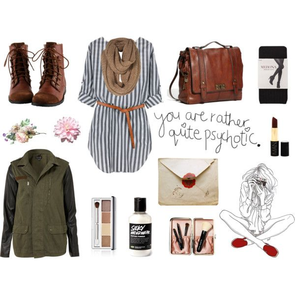 Quite psychotic. by rosadigerico on Polyvore featuring ...