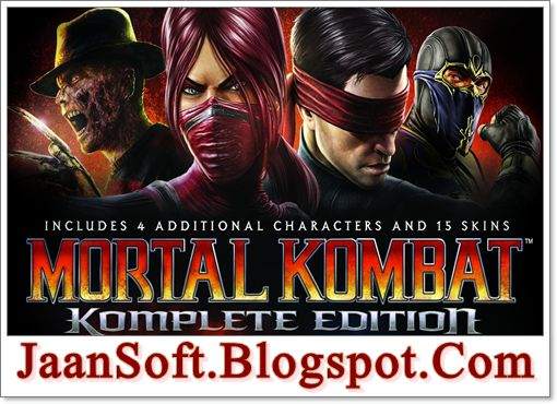 Mortal Kombat 9 Komplete Edition 2017 PC Game Download