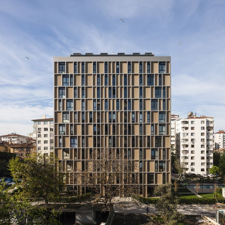 Built by IND [Inter.National.Design] in , Turkey with date 2014. Images by Fernando Alda. Goztepe is a southern neighborhood in the Asian side of Istanbul. The area is a densely arranged fabric of isolated t...