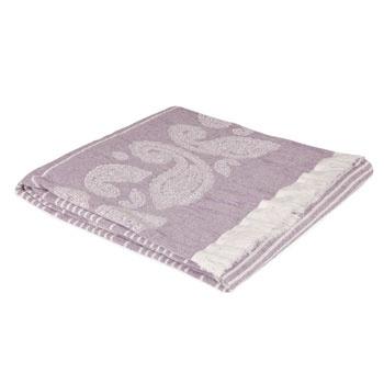 Paisley cotton blanket - Zara