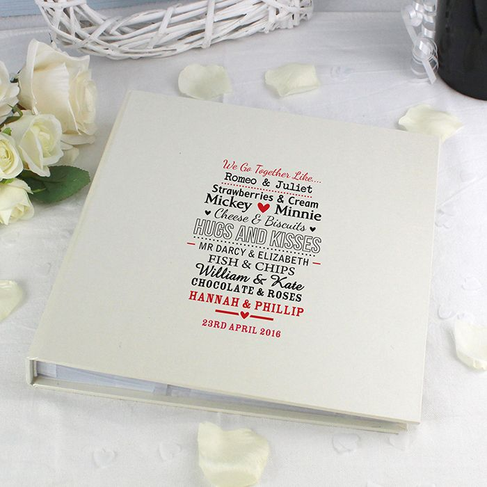 Personalised Me To You Wedding Photo Album Gifts By Occasion Plant Pot Pots UK Oven Gloves
