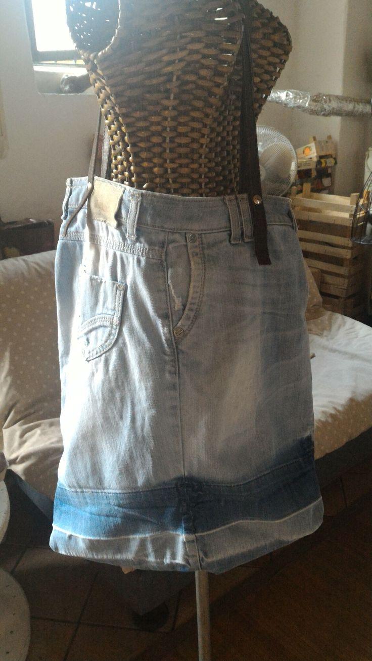 Borsa con recupero di un paio di jeans