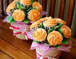awesomeFlower Pots Cake, Cupcakes Flower Pots, Bouquets, Flower Cupcakes, Dc Cupcakes, Cupcakes Cak, Gardens Parties, Cupcakes Rosa-Choqu, Pots Cupcakes
