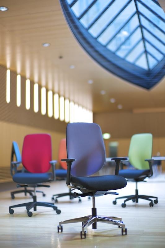 Giroflex 353 bureaustoel - Ergonomie studio Martin Cuypers BV