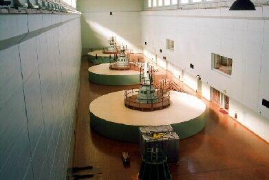 Gavins Point Dam Yankton S Dak Hydroelectric Power