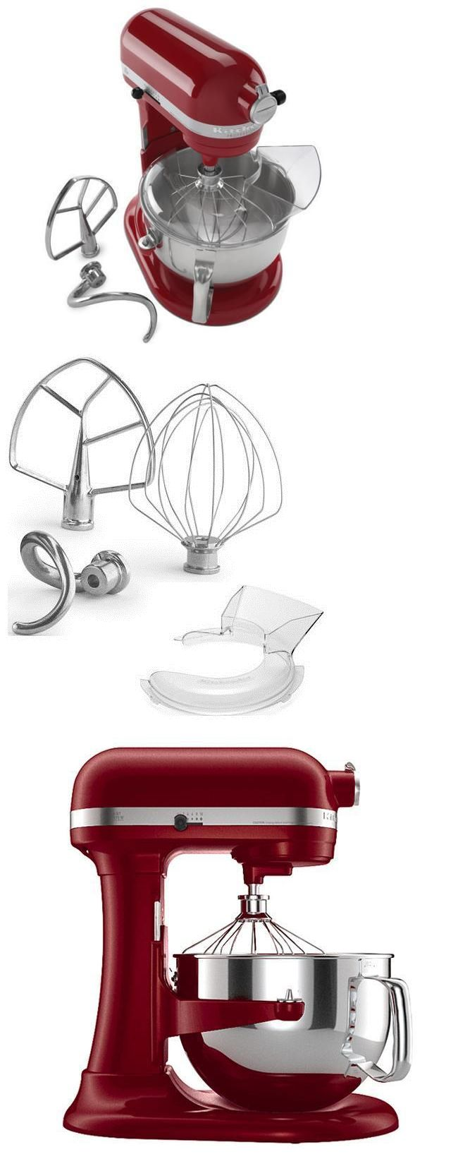 Small Kitchen Appliances: Kitchenaid Professional 600 Stand Mixer~6 Quart~Empire Red~Steel Gear~New-No Box -> BUY IT NOW ONLY: $339.95 on eBay!