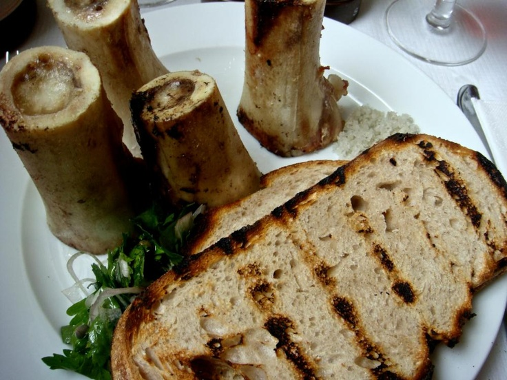 Roast Bone Marrow - Fergus Henderson's Gift to Cuisine