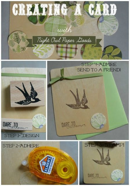 The Mommy Island: Crafty Communications with Night Owl Paper Goods