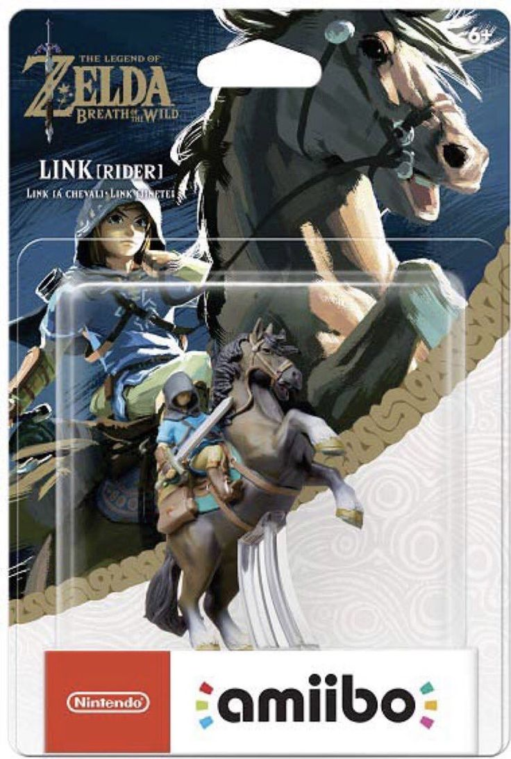 First look at the box art for the upcoming Legend of Zelda: Breath of the Wild Archer and Rider amiibo