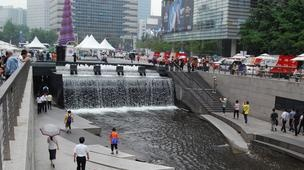Seoul goes green -Seoul's rapid development has also brought on massive environmental problems, forcing the Korean government to decree that all new growth must be green. We take a look at Seoul's many eco-initiatives that have made it one of the world's best examples of progressive urban development, including a project that turned a busy, air-polluted commuter highway into an inner-city oasis.