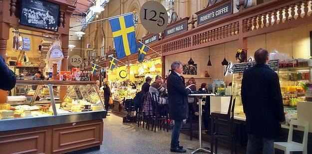 Östermalms Saluhall (Stockholm, Sweden) | 35 Food Markets Around The World To Put On Your Travel Bucket List