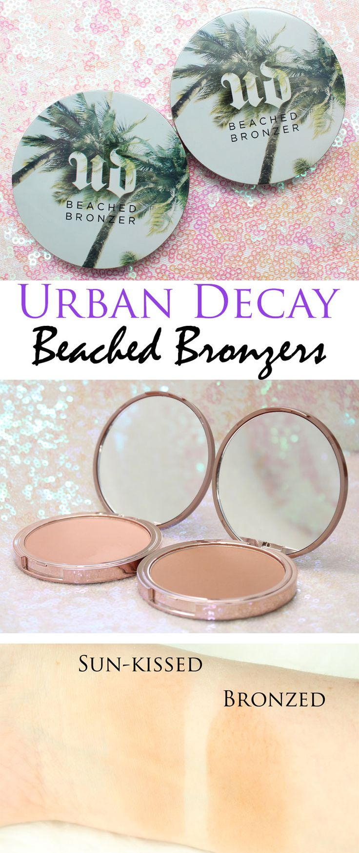 Urban Decay Summer 2016 Beached Bronzers are perfect fo summer!