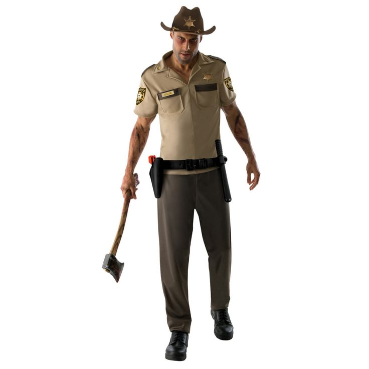 Disfraz The Walking Dead. Rick Grimes