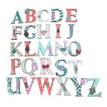 Small Wooden Letters with Hardware By Ashland™