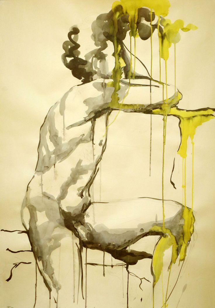 "Cristina Carturan  ""Paolo"" - Ecoline 70x100 cm"