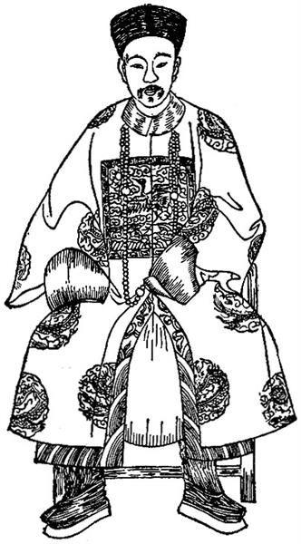 Костюмы и атрибуты императорской фамилии в древнем китае