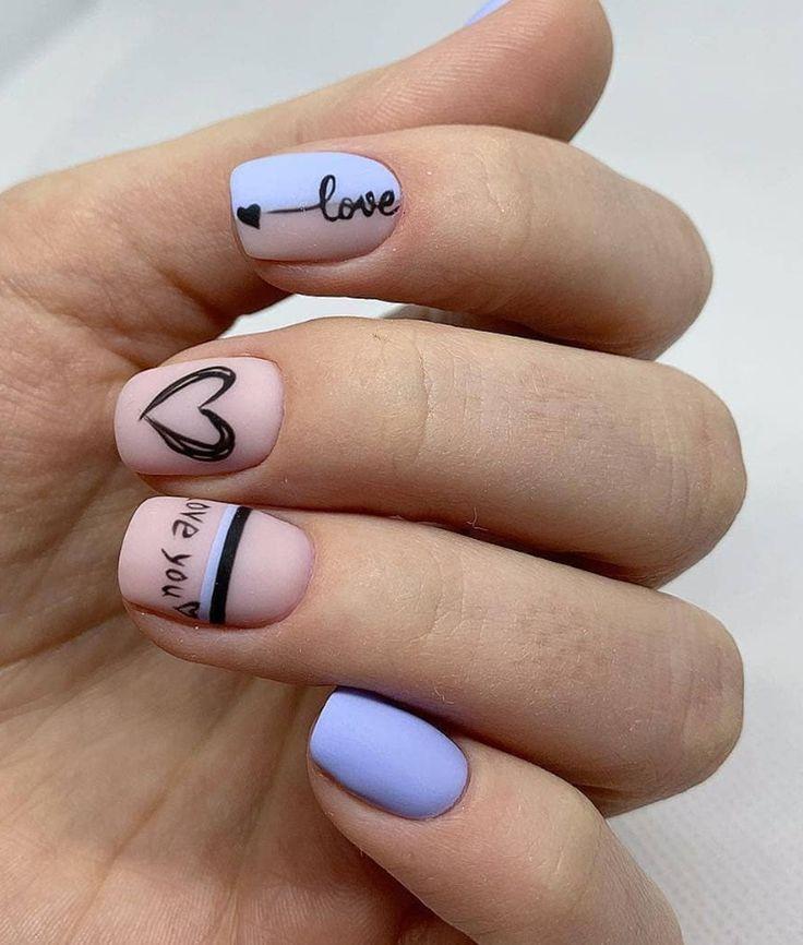 45 Gorgeous Nail Art Designs Ideas For Short Nails – Nägel