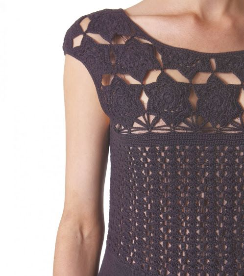 Outstanding Crochet: #Crochet & Fabric from Odd Molly.