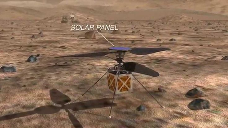 NASA/JPL To Put A Helicopter On Mars! - Crazy Engineering: Mars Helicopter