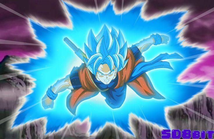 Xeno Goku - SSGSS V2 by SD8bit.deviantart.com on @DeviantArt - Visit now for 3D Dragon Ball Z compression shirts now on sale! #dragonball #dbz #dragonballsuper