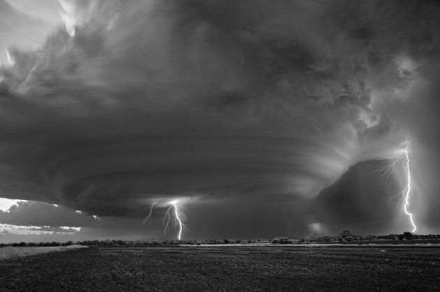 Chasing supercells is all in a day's work when this landscape photographer goes where the weather takes him.
