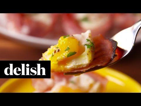 Apprenez à cuisiner les meilleurs oeufs jambon formage en moule à muffins! Ils seront parfaits! - Trucs et Bricolages