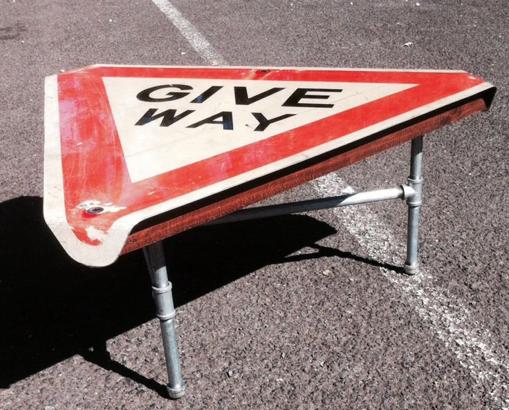 Give way coffee table