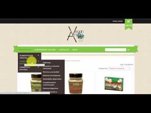 MI TIENDA VEGANA ONLINE visión, objetivo, ventajas y tour virtual por mi tienda online veganarte/shop http://veganarte.com/mi-tienda-vegana-online/