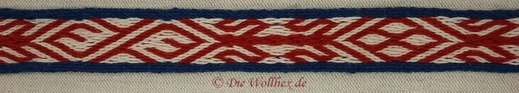 Tablet woven braid, 9-10 c., Birka