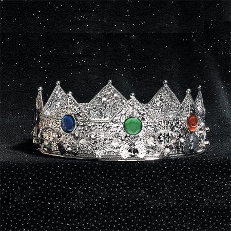 Silver Charlamagne Crown $59.99  plus shipping