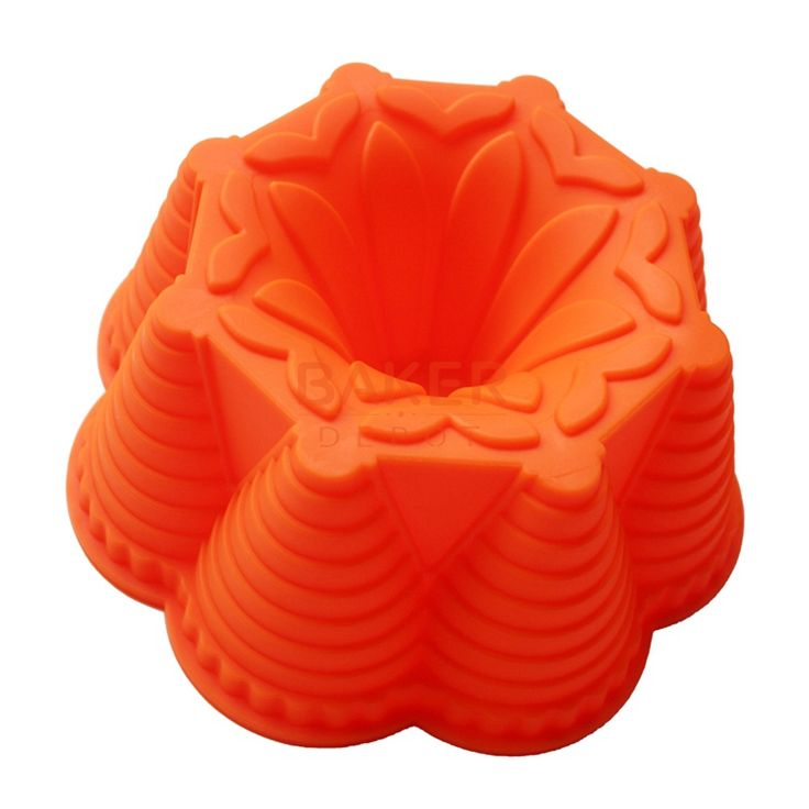 silicone cake molds DIY cake mold flower bread moulds novelty pastry molds SCM-003-2