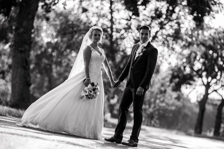 Bruidspaar, zwart-wit Photo by Sjoerd Banga, © Banganimation